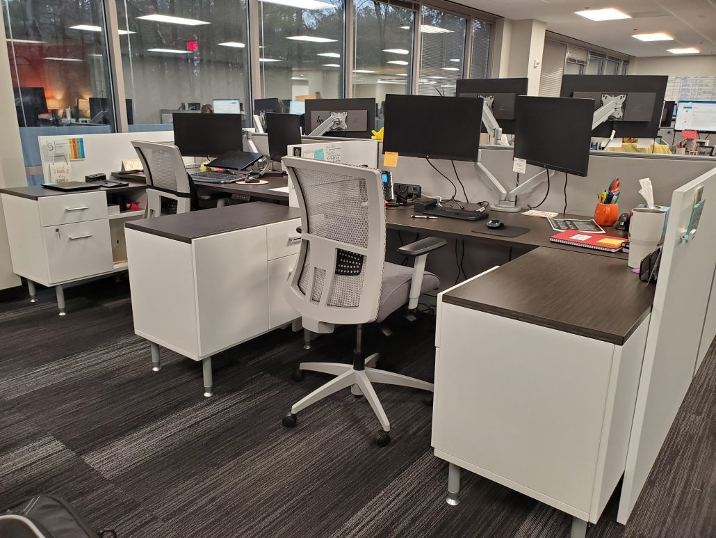 Synergis cubicle