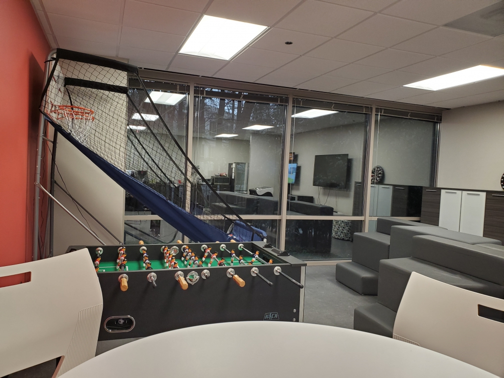 Synergis Game room